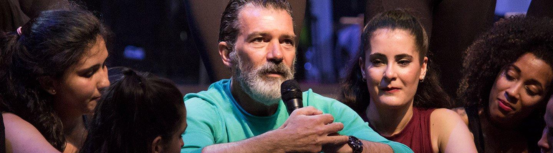 Antonio Banderas Escuela Artes Escenicas Malaga