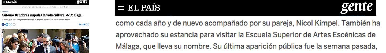 El País ESAEM Antonio Banderas