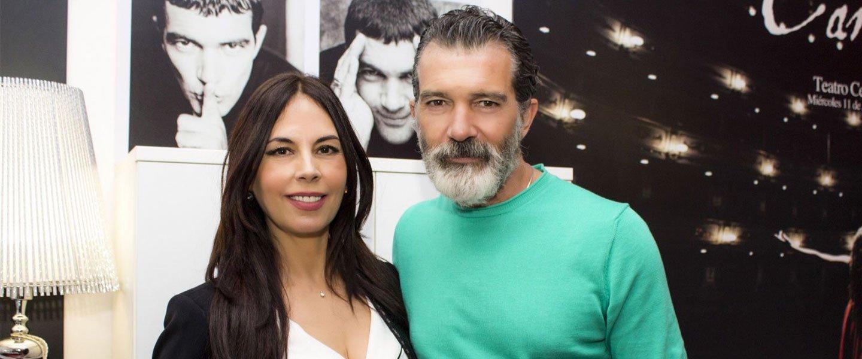 Marisa Zafra con Antonio Banderas en ESAEM