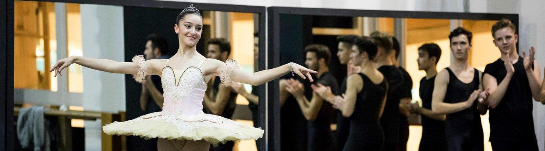 Irene Estevez Hernandez en el Youth America Grand Prix 2017 Conservatorio