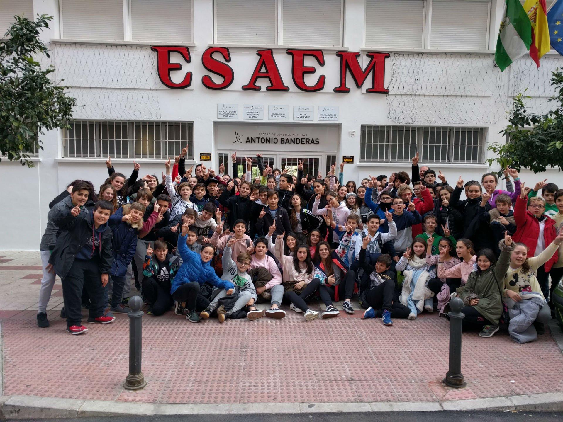 Colegio Los olivos en ESAEM