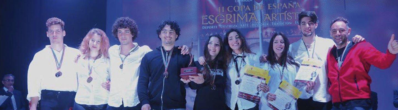 Campeonato esgrima historica oro esaem