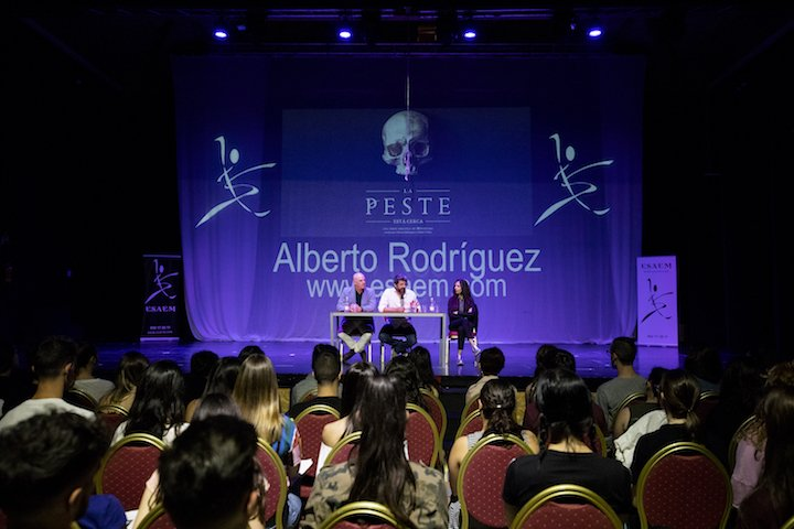 Alberto Rodriguez en ESAEM