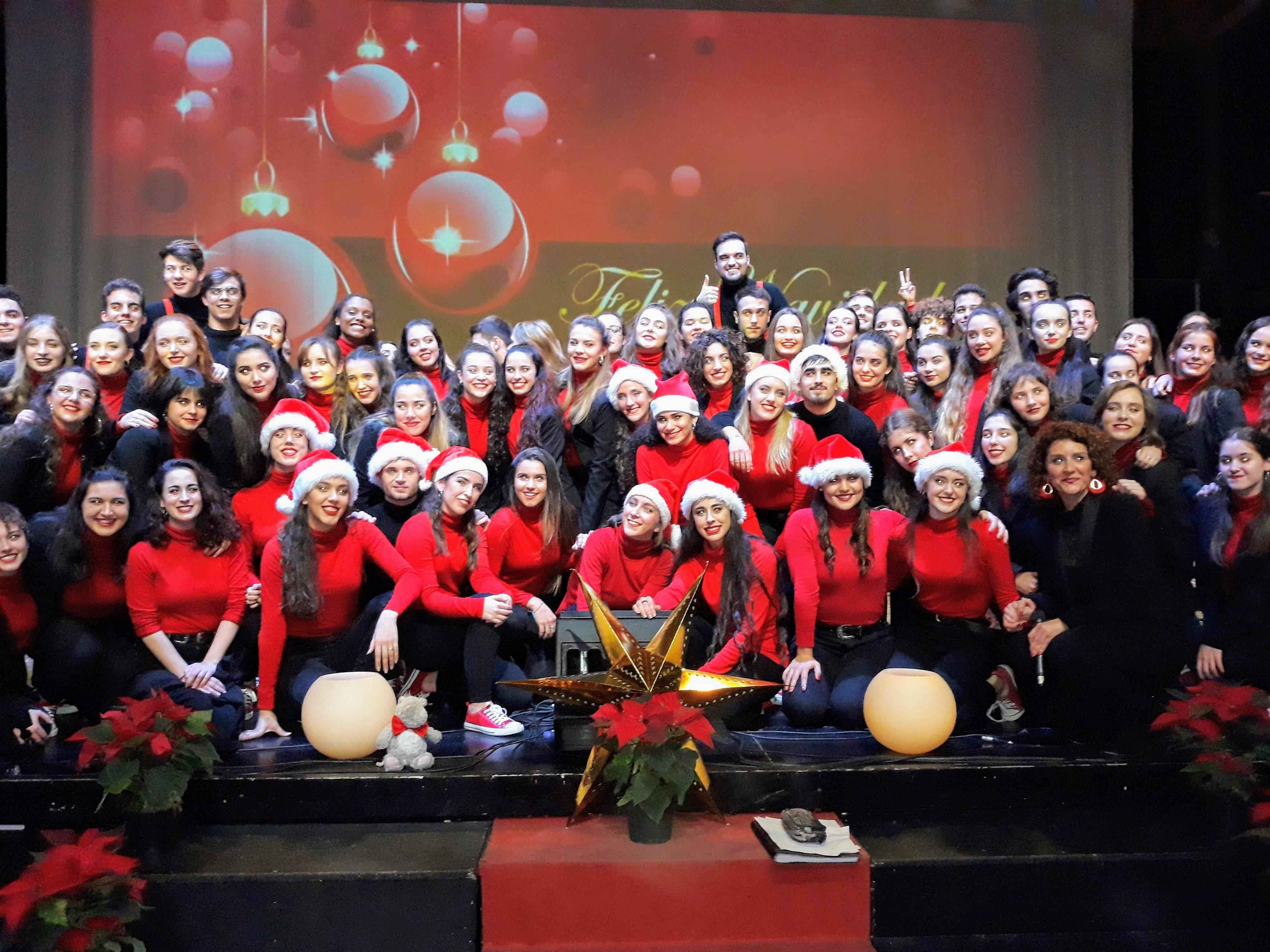 Coral ESAEM en el Teatro Antonio Banderas