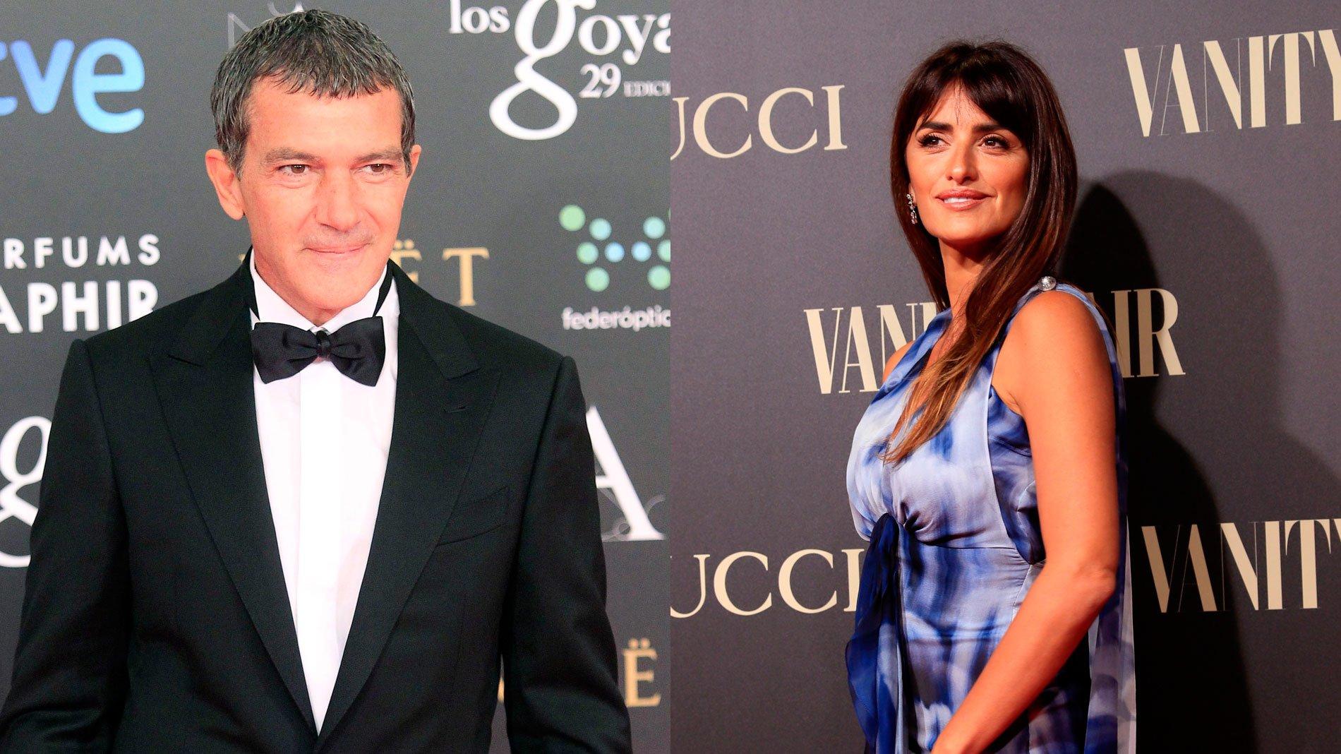 Antonio Banderas y Penélope Cruz nominados a los Globo de Oro 2019