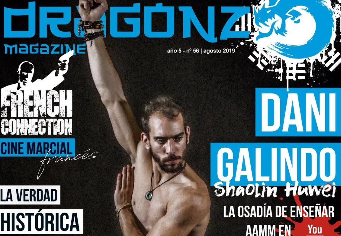Dani Galindo, portada de Dragonz